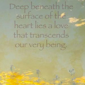 beneath heart